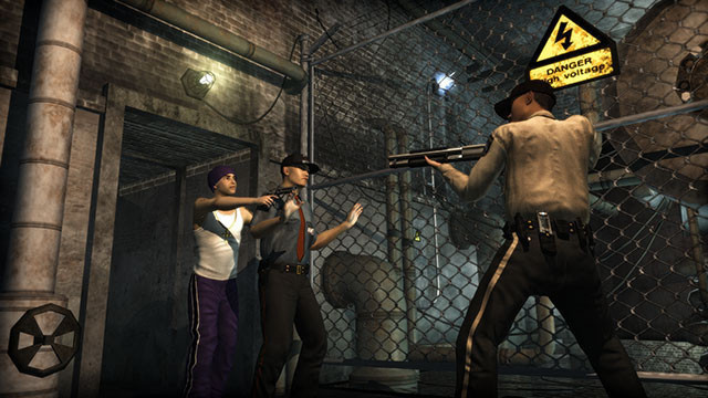 Actionspiel Saints Row 2: Gefängnis © THQ