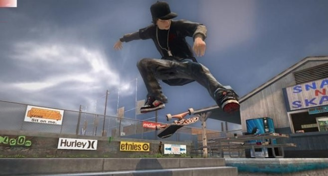 Sportspiel Tony Hawk's Project 8: Skateboard © Activision