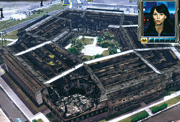 Strategiespiel Command & Conquer 3 – Tiberium Wars: Pentagon © Electronic Arts
