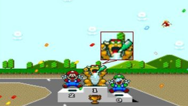Super Mario Kart: Sekt unter Verschluss © movie-censorship.com