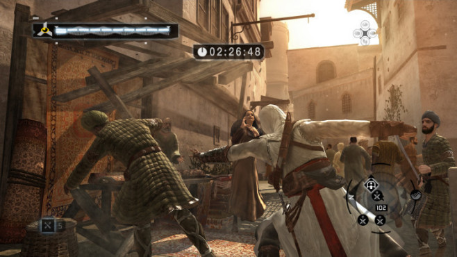 Actionspiel Assassin's Creed: Schubsen