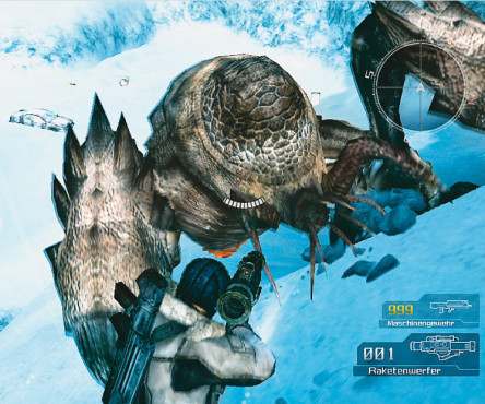 Actionspiel Lost Planet – Extreme Condition: Akride © Capcom