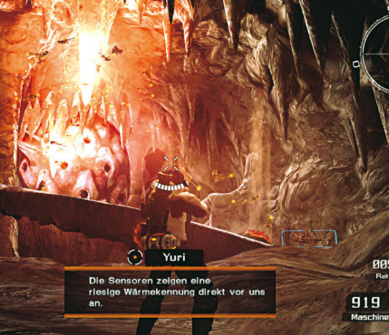 Actionspiel Lost Planet – Extreme Condition: Höhle © Capcom