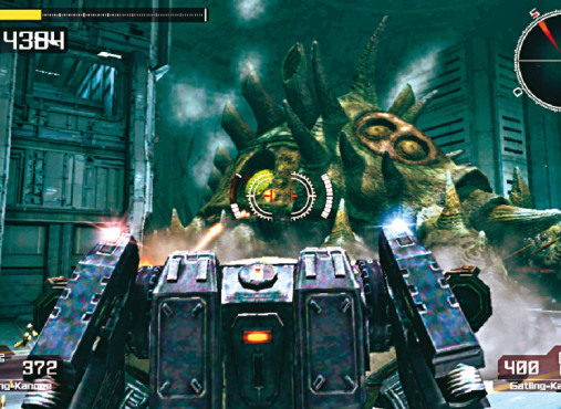 Actionspiel Lost Planet – Extreme Condition: Kampfroboter © Capcom