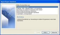 E-Mails exportieren und sichern