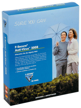 F-Secure Anti Virus 2008: Virenschutzprogramme unter Windows XP