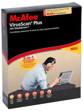 McAfee VirusScan Plus 2008: Virenschutzprogramme unter Windows XP