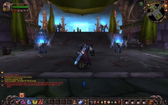 WoW-Add-on - Wrath of the Lich King: Ebon Hold © Blizzard