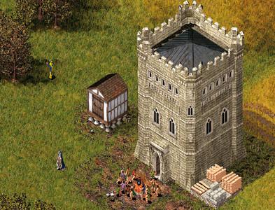 Aufbauspiel Stronghold 2: Barde