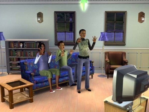 Simulation Die Sims 3: Fernseher © Electronic Arts