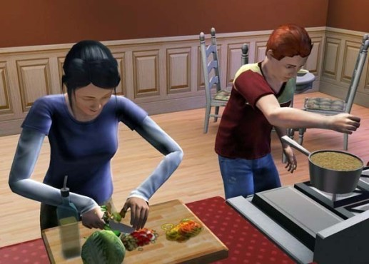 Simulation Die Sims 3: Kochen © Electronic Arts
