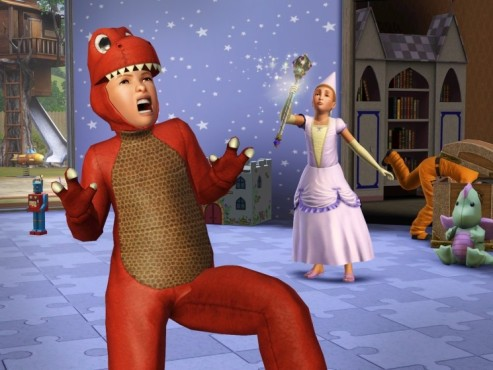 Simulation Die Sims 3 – Lebensfreude: Dinosaurier © Electronic Arts