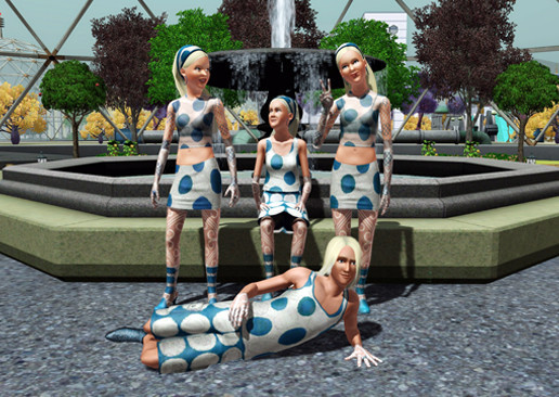 Simulation Die Sims 3 – Lunar Lakes: Kleidung © Electronic Arts