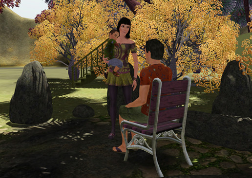 Simulation Die Sims 3 – Lunar Lakes: Paar © Electronic Arts