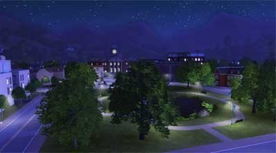 Simulation Die Sims 3: Nacht © Electronic Arts
