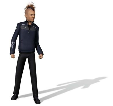 Simulation Die Sims 3: Punk
