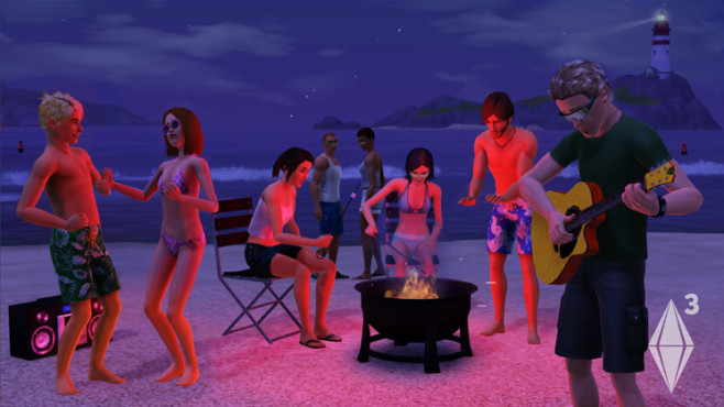 Simulation Die Sims 3: Strandparty © Electronic Arts