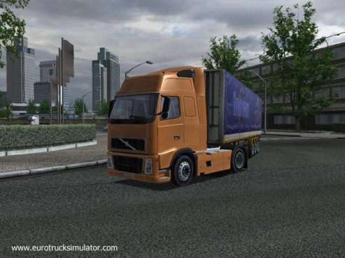 Simulation Euro Truck Simulator © SCS Software