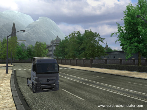 Simulation Euro Truck Simulator: Abgeliefert © SCS Software