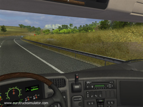 Simulation Euro Truck Simulator: Ausblick © SCS Software
