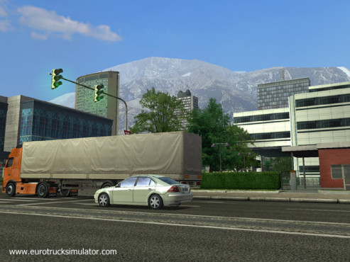 Simulation Euro Truck Simulator: Berge © SCS Software