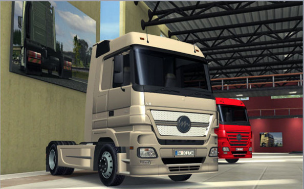 Simulation Euro Truck Simulator: Braun © SCS Software