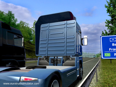 Simulation Euro Truck Simulator: Deutschland © SCS Software