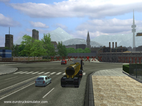 Simulation Euro Truck Simulator: Ende © SCS Software
