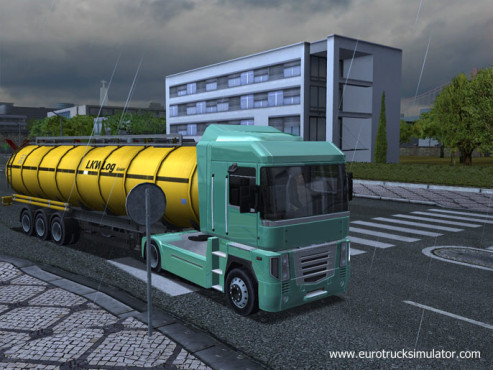 Simulation Euro Truck Simulator: Farben © SCS Software