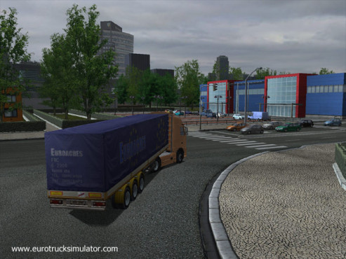 Simulation Euro Truck Simulator: Grün © SCS Software