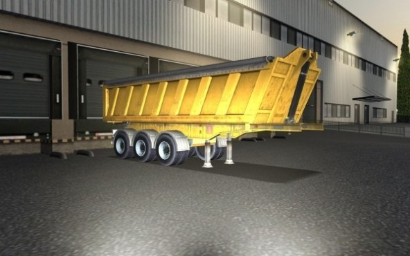 Simulation Euro Truck Simulator: Kies © SCS Software