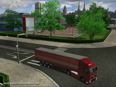 Simulation Euro Truck Simulator: Leer © SCS Software