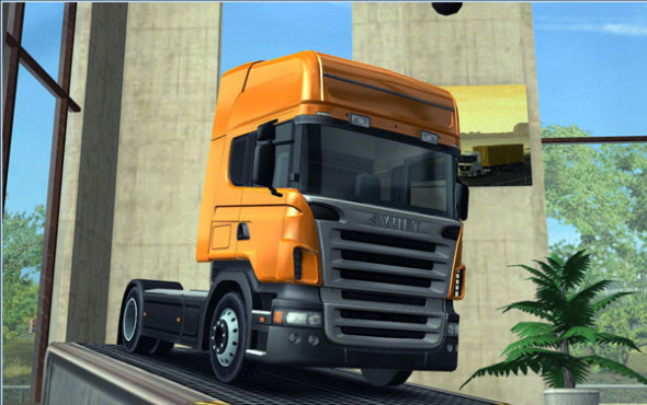 Simulation Euro Truck Simulator: Scania © SCS Software