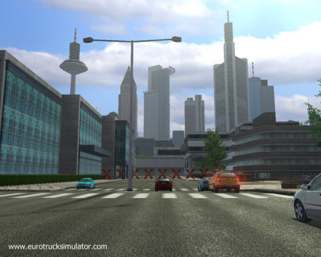 Simulation Euro Truck Simulator: Skyline © SCS Software