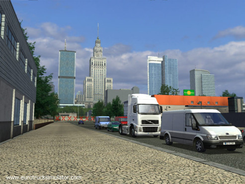 Simulation Euro Truck Simulator: Wetter © SCS Software