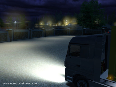 Simulation Euro Truck Simulator: Ziel © SCS Software