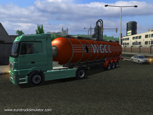 Simulation Euro Truck Simulator: Öl © SCS Software