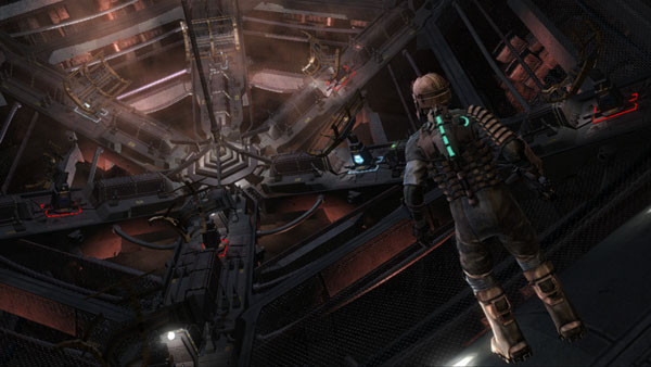 Actionspiel Dead Space: Architektur