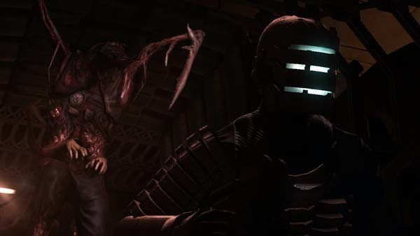 Actionspiel Dead Space: Ecken