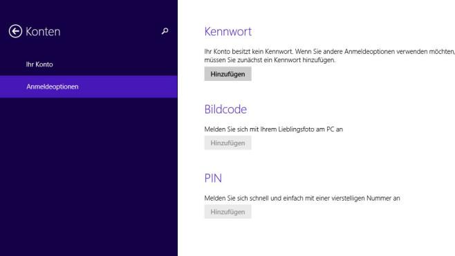 Benutzerkonto mit Passwort versehen samt Kennworthinweis ©COMPUTER BILD