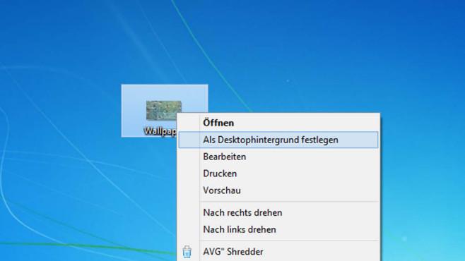 Desktop-Screenshot als Wallpaper ©COMPUTER BILD
