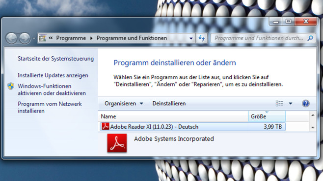 Programmgröße auf 3,99 bzw. 4 Terabyte erhöhen ©COMPUTER BILD