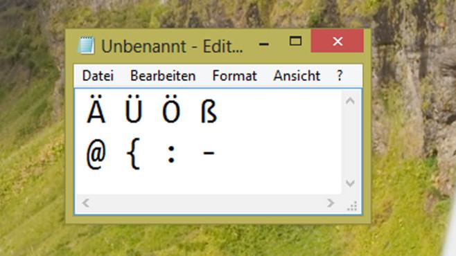 Tastaturlayout ändern: Vertauschte Buchstaben ©COMPUTER BILD