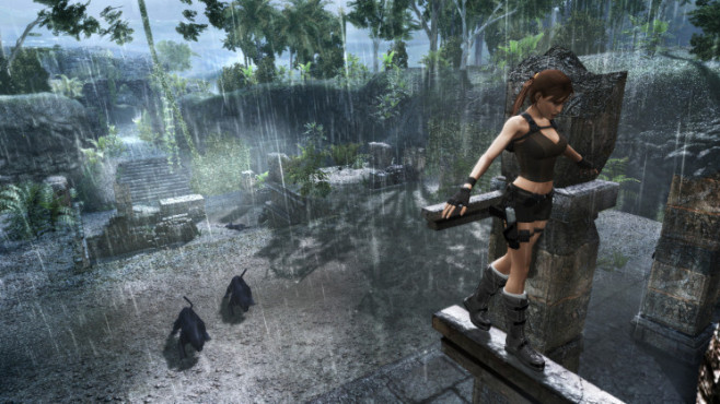 Actionspiel Tomb Raider � Underworld: Akrobatik © Eidos Interactive