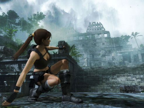 Actionspiel Tomb Raider � Underworld: Aussicht © Eidos Interactive