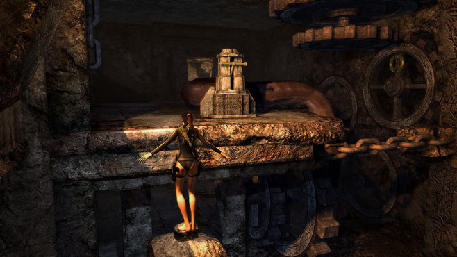 Actionspiel Tomb Raider � Underworld: Balancieren © Eidos Interactive