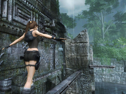 Actionspiel Tomb Raider � Underworld: Balken © Eidos Interactive