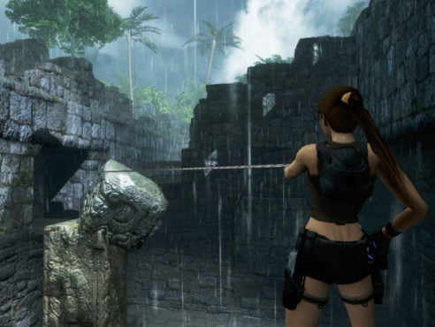 Actionspiel Tomb Raider � Underworld: Felsbrocken © Eidos Interactive