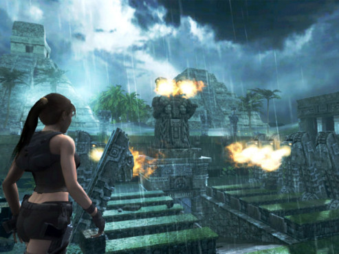 Actionspiel Tomb Raider � Underworld: Feuer © Eidos Interactive