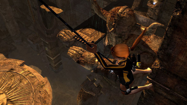 Actionspiel Tomb Raider � Underworld: Greifhaken © Eidos Interactive
